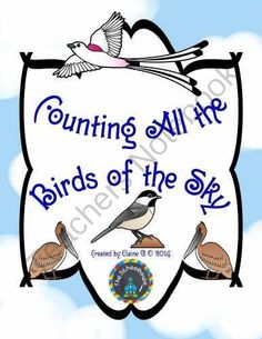 Counting All the Birds of the Sky FFG (File Folder Game) from The-Schoolhouse on TeachersNotebook.com -  (5 pages)  - Here's a fun ffg (file folder game) that is perfect for ANY math center or individual work....even in a Christian classroom!!