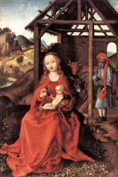 The holy family, Martin Schongauer/ Andrea Villaseñor