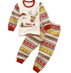 Christmas Pajamas for kids 100 Organic cotton Two by hellodearkids, $36.00