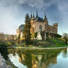 Castle in Bojnice city, Slovakia