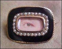 lovers eye pin.