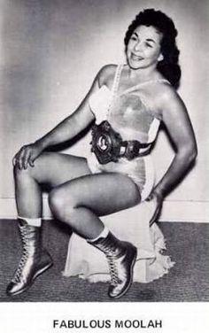 Womens Pro Wrestling - The Fabulous Moolah