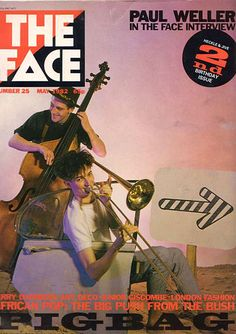 """cMag627 - The Face Magazine cover """"Paul Weller"""" by Neville Brody / nº 25 May 1982"""