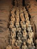 Terracotta Warrior Statues in Qin Shi Huangdi Tomb - China