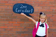 1st day of school shot ideas