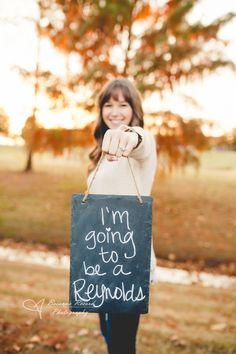 Engagement photo idea! Super cute! Brianna Record Photography