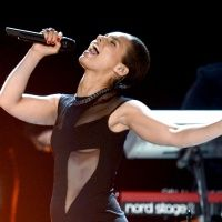 Alicia Keys performs on the 55th Annual GRAMMY Awards