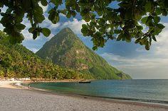 Jalousie Plantation Beach, St. Lucia