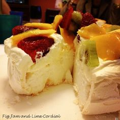 Birthday Pavlova « Fig Jam and Lime Cordial The Best Food Blog in the ...
