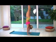 ▶ Beginner Yoga Handstands with Kino - YouTube