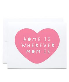 Home is where your m