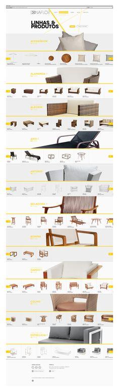 Twenty Twelve | Donaflor #interactive #template #webdesign #ecommerce