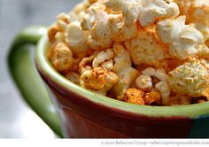 Spicy Southwestern Popcorn