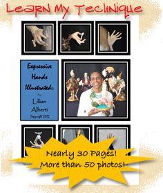 Order Lillian's Expressive Hand Technique Lesson! Home study