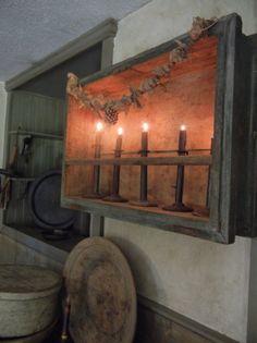 Prim Needfuls...old candlelight.