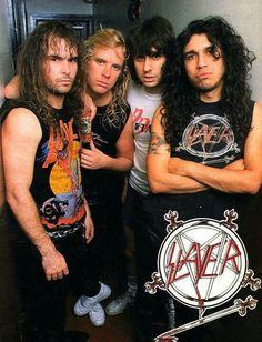 Slayer/ Metal Church/ Overkill  November 1986 Grand Olympic Auditorium  L.A. ,CA