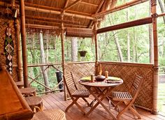 DIY PLANS Tiki Hut  Bamboo bungalow with Tiki bar by bamboobarn, $500.00  THE START OF MY TIKI HUT BAR BEHIND THE POOL.  CAN'T WAIT RANDY!