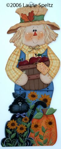 .kat en scarecrow