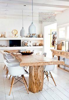 woning inspiratie on pinterest atelier wands and loft. Black Bedroom Furniture Sets. Home Design Ideas