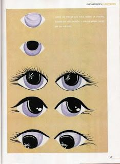 How To Make Fondant Eyes On Pinterest Cartoon Eyes Doll