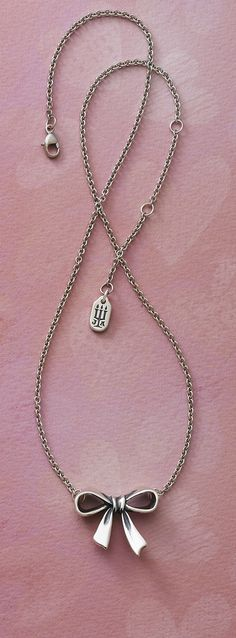 bow necklac, james avery necklace