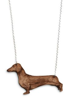 Ruff-and-Tumble Necklace in Dachshund dachshund necklac, stuff, doxi, dachshunds, necklaces, wiener dogs, jewelri, hot dogs, thing
