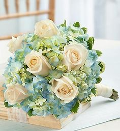 Possibility white roses, wedding bouquets, bride bouquets, rose wedding, white bouquets, blue weddings, bouquet flowers, blue bouquets, bridesmaid bouquets