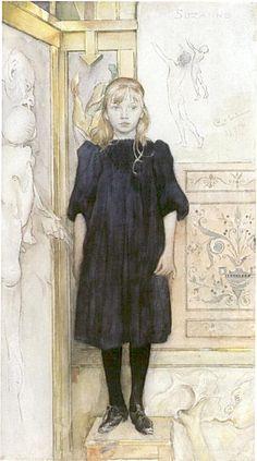 Suzanne ~ Carl Larsson