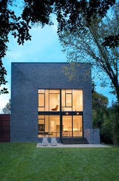 Hampden Lane House / Robert Gurney Architect/ Bethesda, Maryland, USA