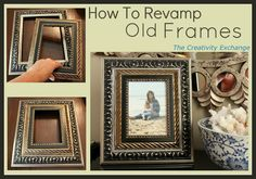 How to Revamp Old Frames {Tutorial}