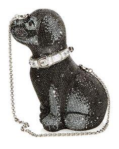 Judith Leiber 'Puppy' Clutch