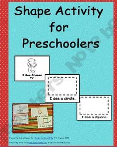Shapes Activity for Preschool Freebie