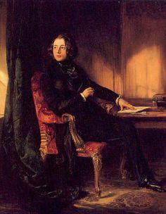 Charles Dickens, by Daniel Maclise