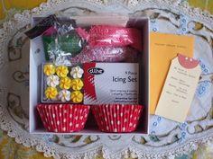 cupcake kit gift, diy cupcak, cupcakes, weight loss, diy gift, cupcak kit, loss recip, healthy foods, gift idea