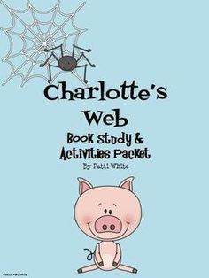 This book study and activities packet for Charlotte's Web is sure to keep your students engaged in this classic novel! $8.00