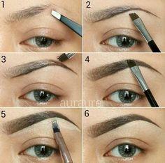 Great eyebrow tutorial