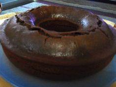 Bolo simples de chocolate light (liquidificador)