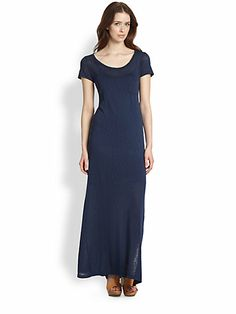 Splendid - Slub Jersey Maxi Dress - Saks.com