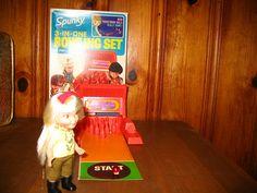 spunky bowling set , via Flickr.