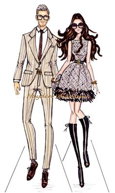 The Beckhams by Hayden Williams