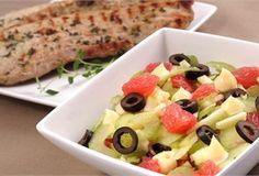 Sałatka z grejpfrutem/ Salad with grapefruit, www.winiary.pl