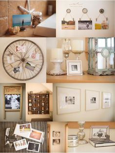 Tons of creative photo display ideas. Photo by Amy Lucy Lockheart