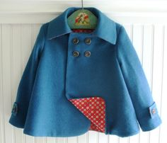 beautiful little girl coat