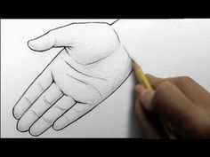 How to Draw Hands, 2 Ways (open palm, writing) (13:24)