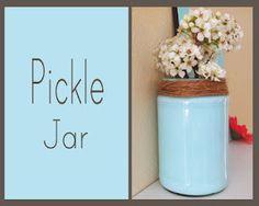 pickle jar upcycle