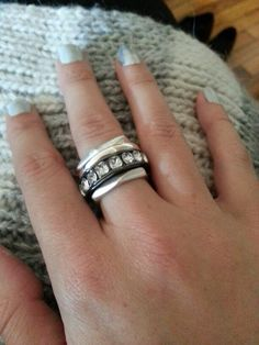 Gorgeous stacking rings #Kennethcole