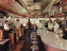 1950s diner 1950s diner, dinner, american diner, memori, food, frost, diners, restaurants, vintage style