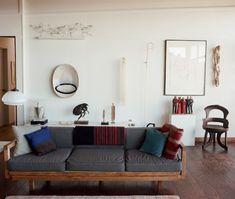 Home made wood futon