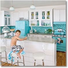 6 Creative Ways to Add A Splash of Color To Your Kitchen - remodelingguy.net
