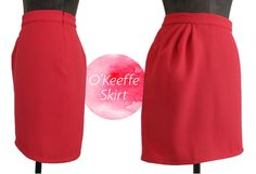 The O'Keeffe Skirt Sewing Pattern by Sinbad & Sailor